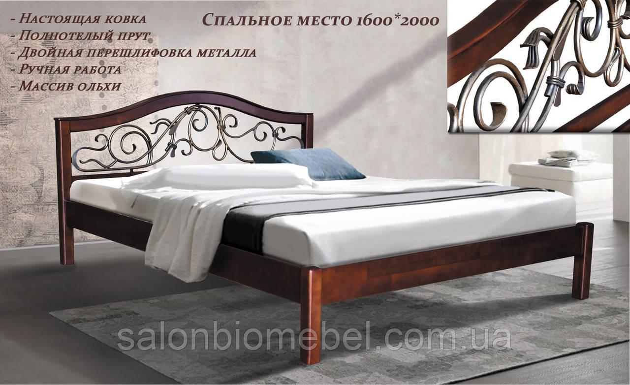 Кровать Илона 1,4м ковка