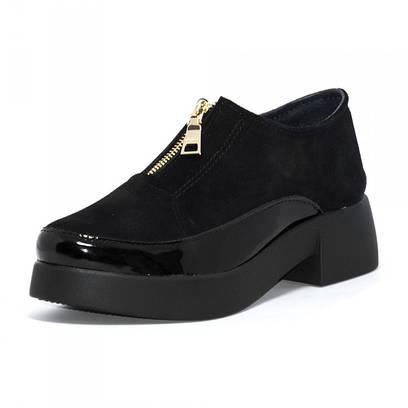 Туфли женские замшевые 7133