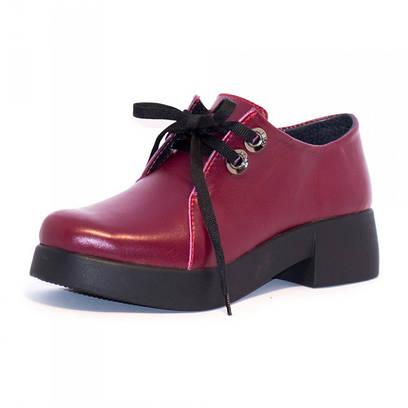 Туфли женские кожаные 7128