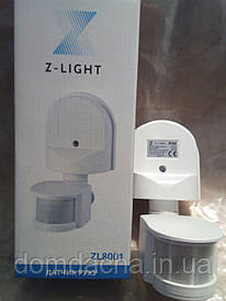 Датчик движения ZL8001 Z-Light 12м Белый