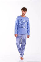 Пижама мужская хлопковая зимняя Dobra Nocka 6060
