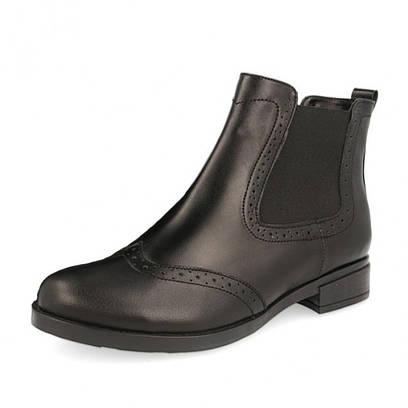 """Ботинки """"Челси"""" черные 5980"""