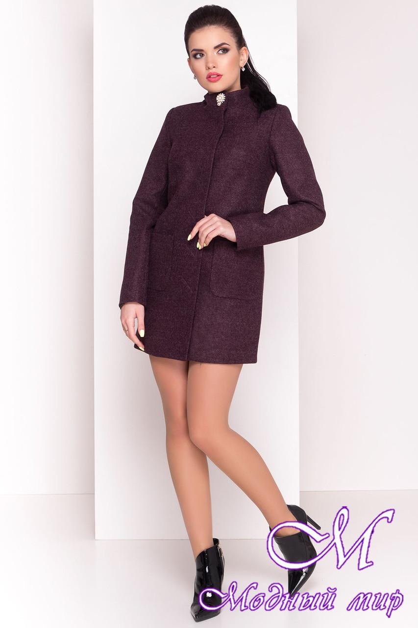 """Женское короткое кашемировое пальто (р. S, M, L) арт. """"Мелини 4378"""" - 21028"""