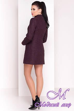 """Женское короткое кашемировое пальто (р. S, M, L) арт. """"Мелини 4378"""" - 21028, фото 2"""