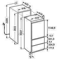 Холодильник Liebherr ECBN 6156, фото 7