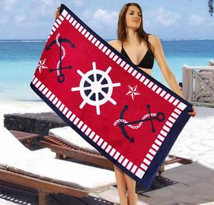 Пляжные велюровые полотенца Lotus