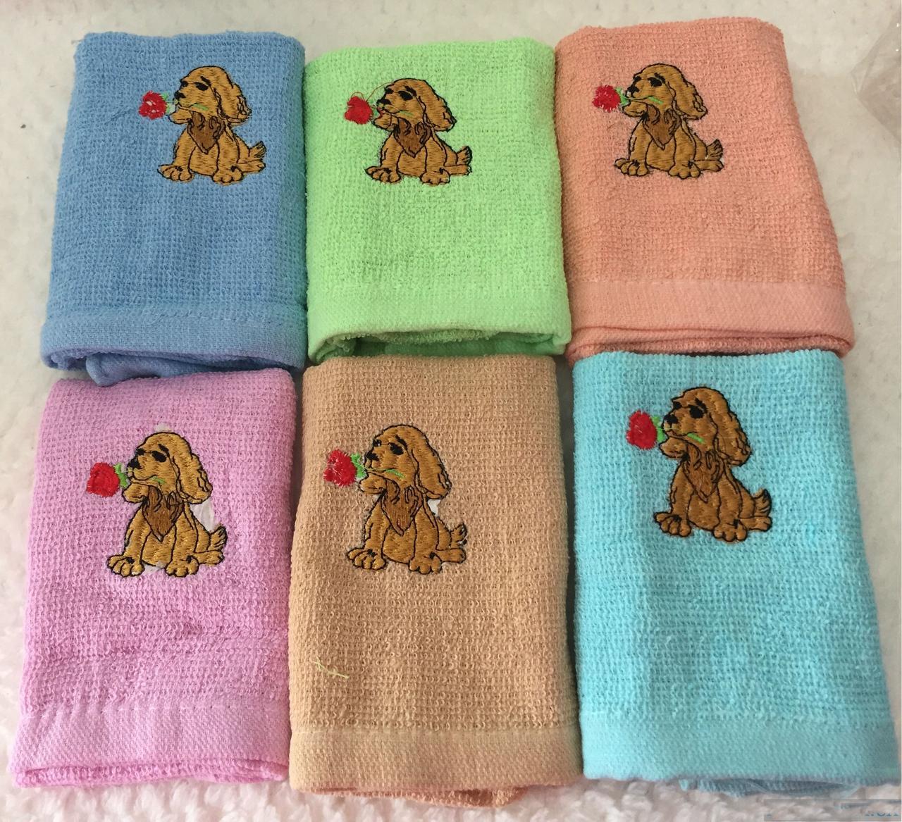 Кухонные полотенца с собачками