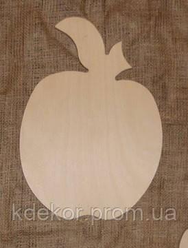 Дощечка Яблучко Яблуко (велике) фанера 6мм заготівля для декупажу