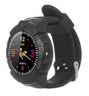 Детские умные часы ERGO GPS Tracker Color C010 - Детский трекер (Black)