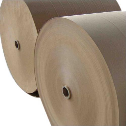 Бумага крафт упаковочная, без печати, Ширина 70см. плотность 35 грам/м2. Вес от 500кг.