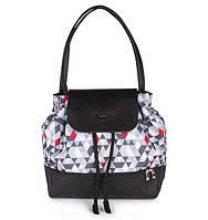 Рюкзак для мамы с матрасом для пеленания Треугольники BabyOno Uptown 1501, фото 1