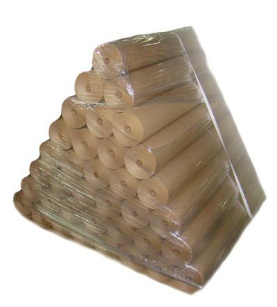 Крафт упаковочная бумага, без печати, Ширина 70см. плотность 35 грамм/м². При заказе от 70кг.