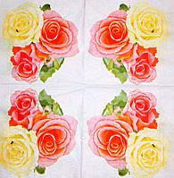 Салфетки красивые Розы 180