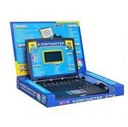 Детский обучающий компьютер,цветной экран, 3 языка, 220V