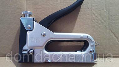 Степлер Sigma с регулятором для скоб 4-14 мм хромированный (2821021)