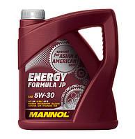 Моторное масло Mannol Energy Formula JP SAE 5W-30 4 л