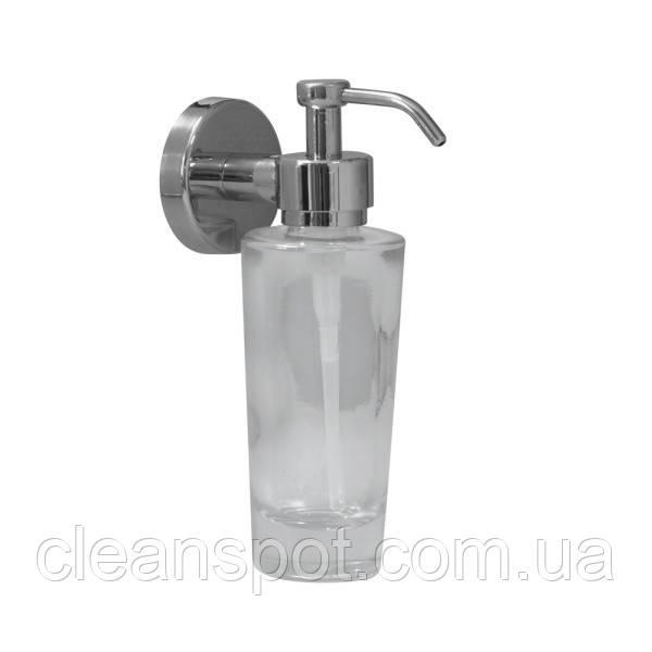 Дозатор мыла в стекляной посуде (конус)