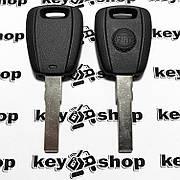 Корпус авто ключа под чип для Fiat (Фиат) с лезвием SIP 22