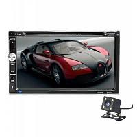 Универсальный 7 дюймовый 2 DIN автомобильный HD DVD плеер с Bluetooth Чёрный