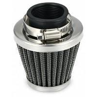 35мм стальной воздушный фильтр очистки 50cc 110cc 125cc Серебристый