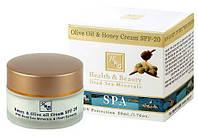 Крем с медом и оливковым маслом SPF-20. Health & Beauty, фото 1