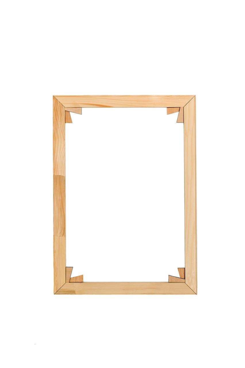 Підрамник модульний для полотна чи картини, ширина профілю - 42 мм, товщина - 18 мм, сосна