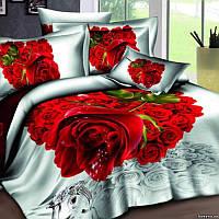 """Купить комплект постельного белья Love You """"Счастье"""", 1,5, евро, семейный"""