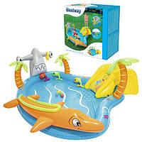 Детский надувной бассейн Bestway 53067 «Морские жители», 280 х 257 х 87 см, фото 1