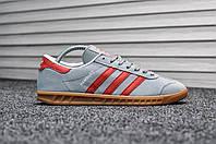 Adidas Hamburg Gray Red (Реплика)