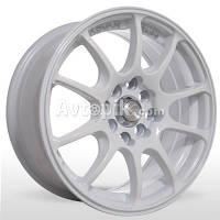 Литые диски Storm BK-380 R15 W6.5 PCD4x100 ET35 DIA114.3 (white)