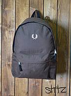 Рюкзак, портфель, сумка Fred Perry (серый), Реплика