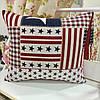 "Декоративная подушка ""Америка"" 45х45: съемная наволочка, наполнитель холлофайбер"