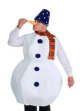 Снеговик карнавальный костюм \ размер универсальный \ BL - ВМ217