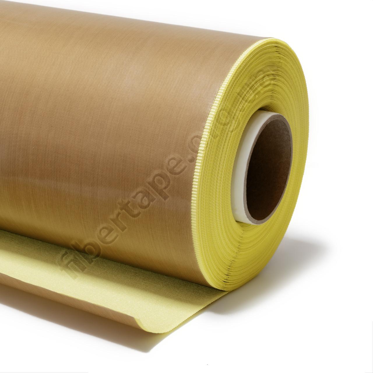 Тефлоновая лента не армированная (пленка) с клеем 125 микрон