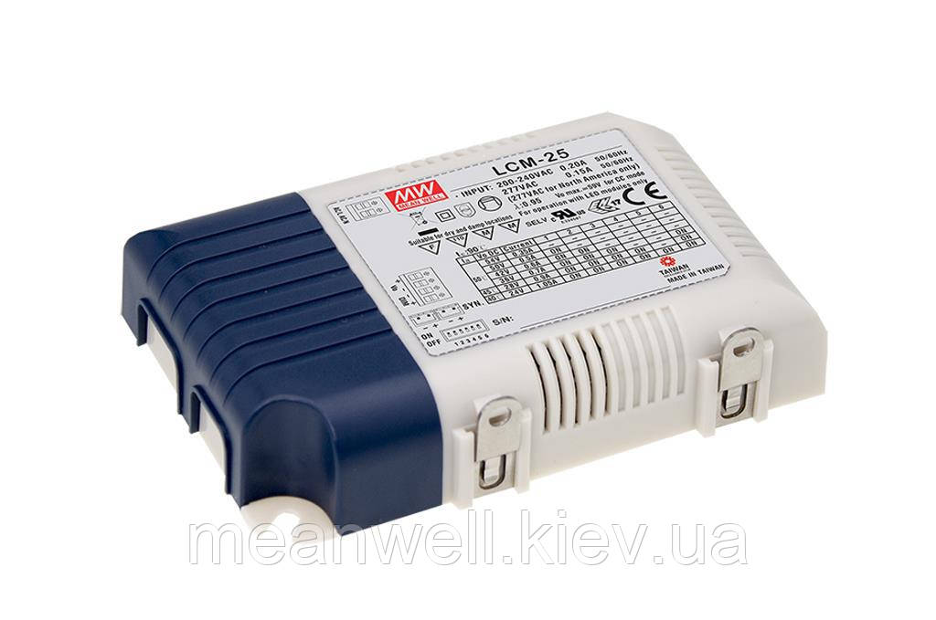 LED драйвер DALI Mean Well LCM-25DA