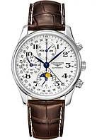 Мужские стильные механические часы Longines L2.673.4.78.3 Master Collection лонжин