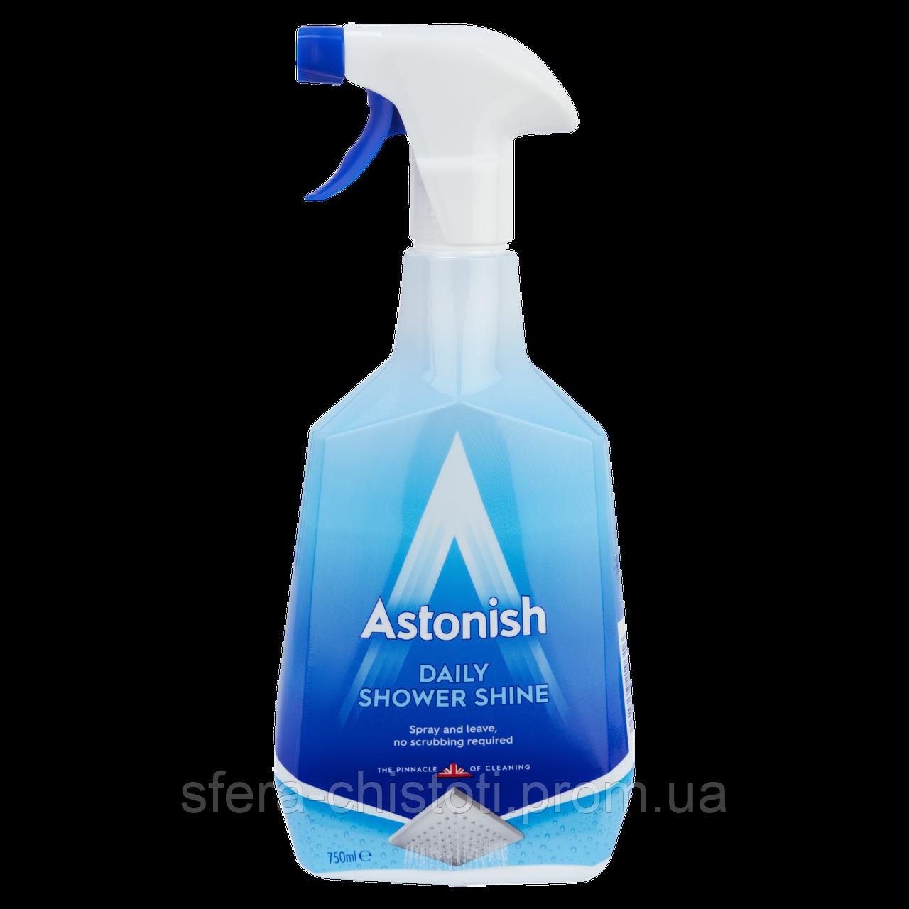 Средство для чистки душевых кабин ASTONISH Shower Cleaner, 750 мл