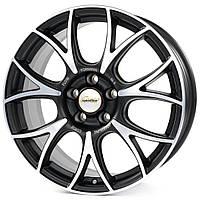 Литые диски Speedline Vincitore R18 W7.5 PCD5x112 ET35 DIA76 (matt black front diamond cut)