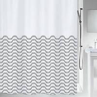 Spirella Шторка для ванной текстильная Spirella VAGUES черная (10.20160)