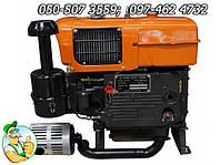 Двигатель Файтер ZS1100E 15 л/с с электростартером для установки на мотоблоки и другого вида сельхоз техники.
