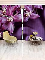 Фотошторы цветы142х270 2шт(8281_1_1)