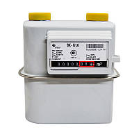 Газовый счетчик Elster BK G1.6 Т с термокоррекцией (счетчик газа Эльстер ВКТ 1.6, Словакия)