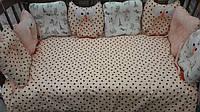 """Детский постельный комплект с подушками """"Сова"""""""
