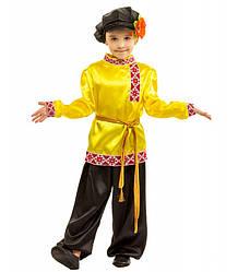 Карнавальный костюм ИВАНУШКА, СЕЛЬСКИЙ ПАРУБОК, РУССКИЙ 6,7,8 лет национальный костюм детский