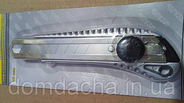 Нож Сталь 23201 с выдвижным сегментированным лезвием