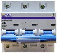 АСКО УКРЕМ Автоматический выключатель УКРЕМ ВА-2003 3р 80А АсКо