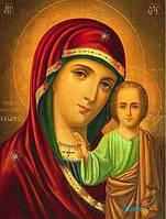 "Набор для рисования камнями ""Икона Божией Матери"""