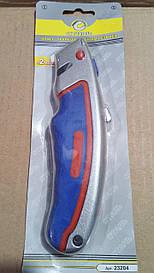 Нож Cталь 23204 металлический с трапециевидным лезвием