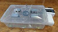 Автоматический бытовой инкубатор Курочка ряба 60 яиц в прозрачном пластиковом корпусе, фото 1