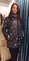 Женская  зимняя  куртка Звезда, фото 1